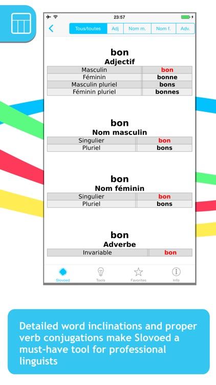 French <-> Italian Slovoed Classic talking dictionary screenshot-4