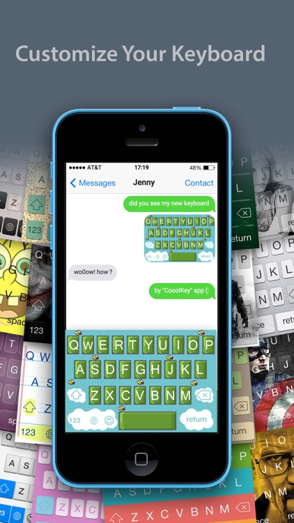 CooolKey - Keyboard for color lovers screenshot-0