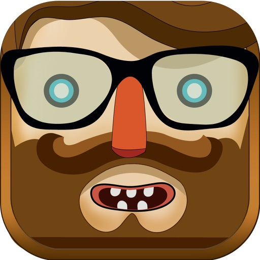 ` Hipster Pop - Blast Cap it! Tap Jump the Puzzle Shoot Key Skill Free 3D icon