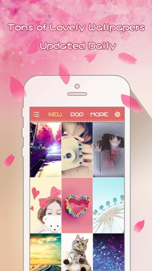 Girly Wallpapers Adorable Backgrounds And Themes For Iphone And Ipod Touch On The App Store