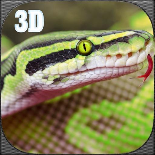 Недвижимость анаконда змея симулятор 3D - охота на волка, медведя, тигра и выжить в джунглях