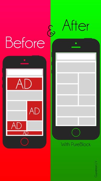 PureBlock: Ad Blocker, Faster Web Browsing Save Data & Money screenshot-4
