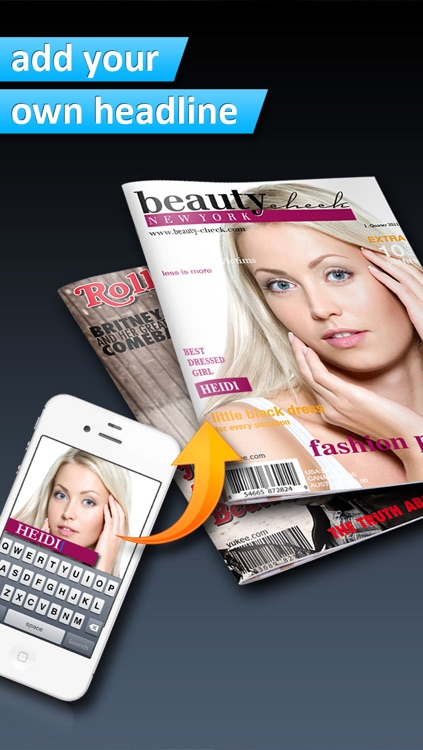 Photo2Cover - Create your own magazine cover