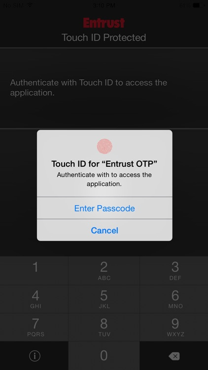Entrust IdentityGuard Mobile screenshot-3