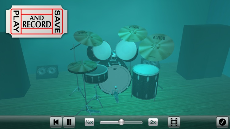 Spotlight Drums Pro ~ The drum set formerly known as 3D Drum Kit screenshot-4