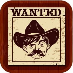 Wild West Wanted Poster Maker Pro - Make Your Own Wild West Outlaw Photo Mug Shots