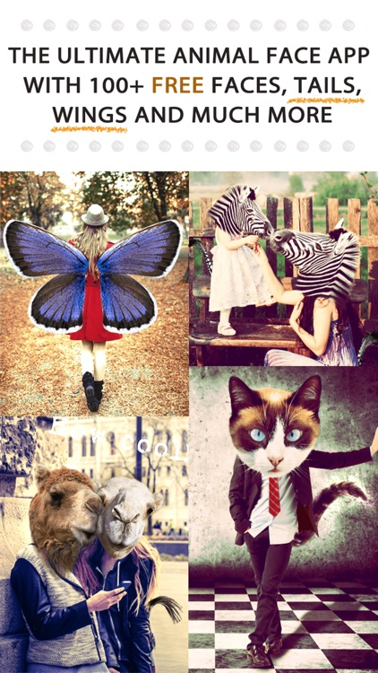 Animal Face Pro - Cat stickers for your photos and more screenshot-0