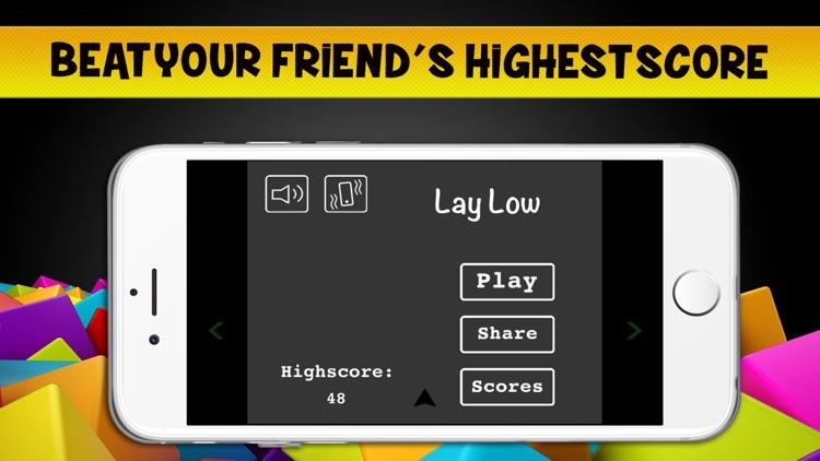 Lay Low - Avoid the blocks falldown screenshot-4