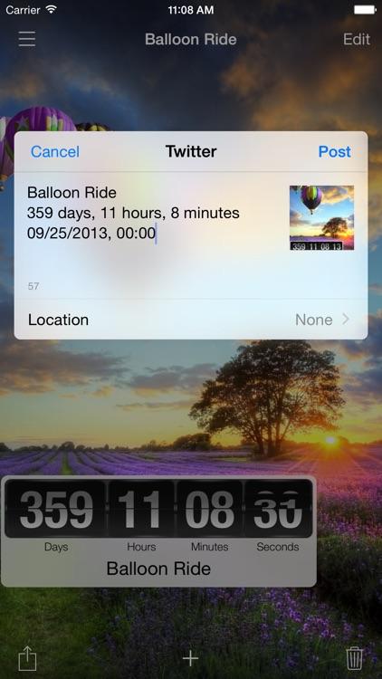 The Big Day - Event Countdown screenshot-3