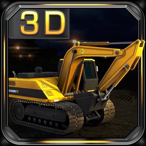 Heavy Excavator 3D Parking - Construction Simulator Game