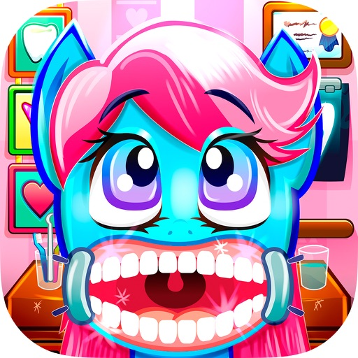Pony Dentist - a Fun Adventure icon