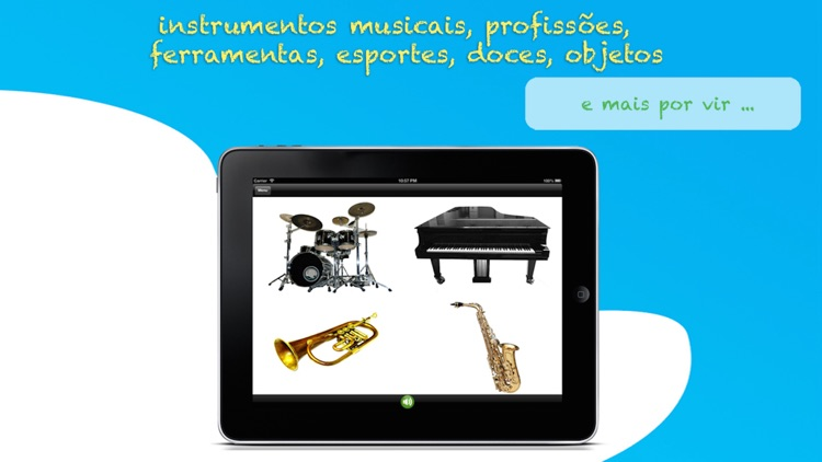 ABC para Crianças: Aprenda Português - Letras, Números e Palavras com Animais, Formas, Cores, Frutas e Legumes Grátis Livre Gratuito screenshot-3