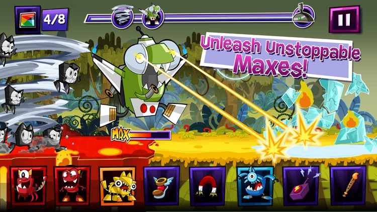 Mixels Rush - Use Mixes, Maxes and Murps to Outrun the Nixels