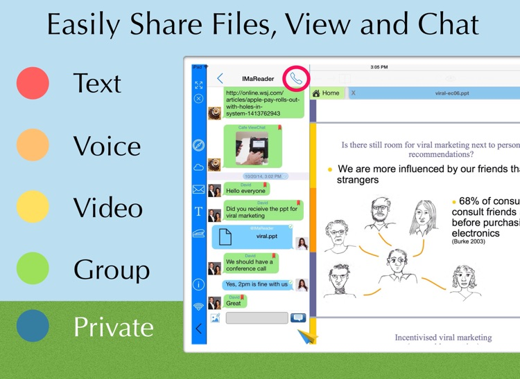 ViewChat PDF Reader with Instant PDF Converter - Best PDF collaboration tools! screenshot-3