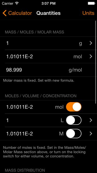 ChemTrix Chemistry Calculatorのおすすめ画像2