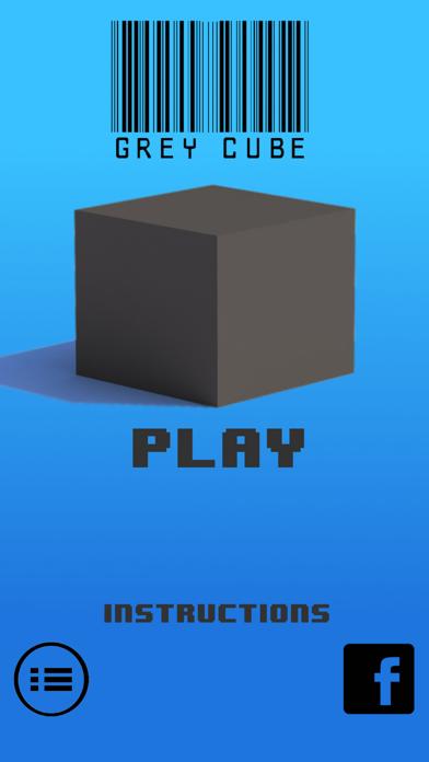 Grey Cube - Endless Barrier Runner screenshot two