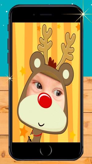 App Weihnachtsbilder.Sein Gesicht In Weihnachtsfotos Im App Store