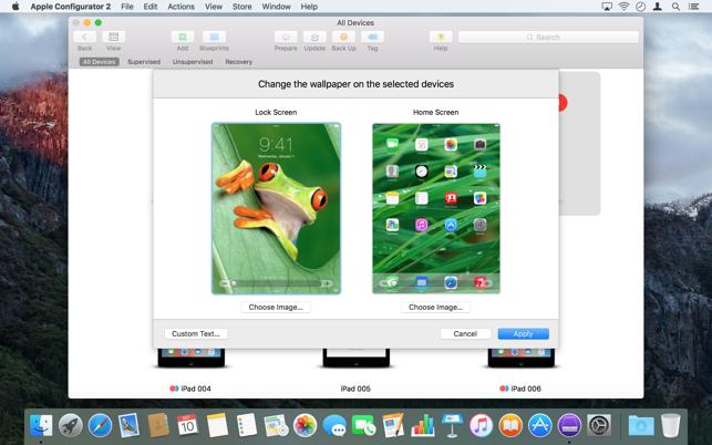 apple configurator 2 im mac app store. Black Bedroom Furniture Sets. Home Design Ideas