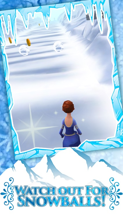 Frozen Princess Run 3D Infinite Runner Game For Girly Girls With New Fun Games PRO screenshot-4
