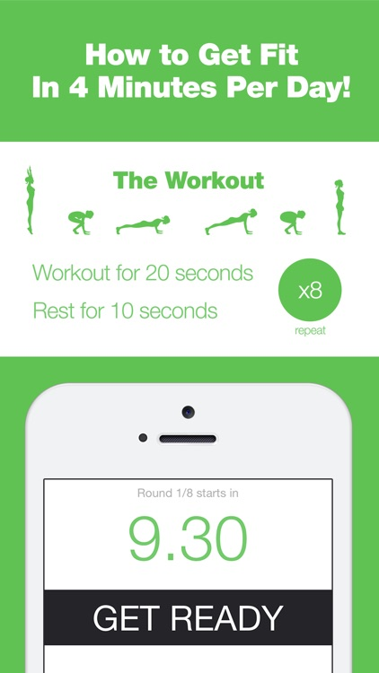 4 Minute Burpee Challenge - Get Fit in 90 Days of Intensive Tabata Interval Training