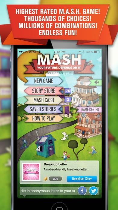 M.A.S.H free Cash hack