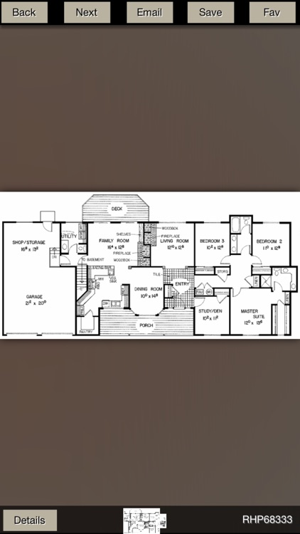 Ranch House Plans Gallery screenshot-3