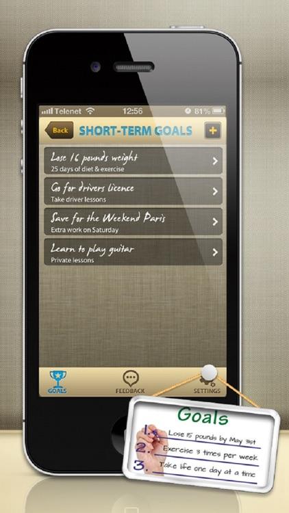 Wonderful Life - Goal Setting Plan (for Winners)