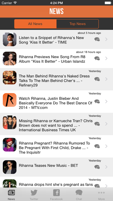 My Artist Alerts for Rihanna - Free