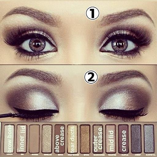 Eye Makeup Step By Step 2015