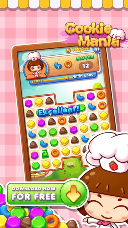 Cookie Splash Mania screenshot-3
