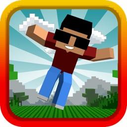 Blocky Jump Bro 3D - Run Block Roads Escape Adventure Story