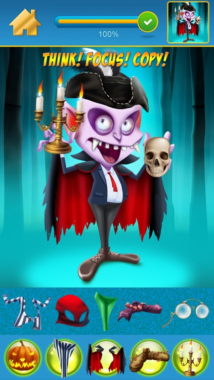 My Scary Little Zombies And Monsters Draw and Copy Game Free Game