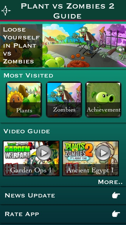 Guide for Plants vs Zombies 2 - 450+ Video screenshot-0
