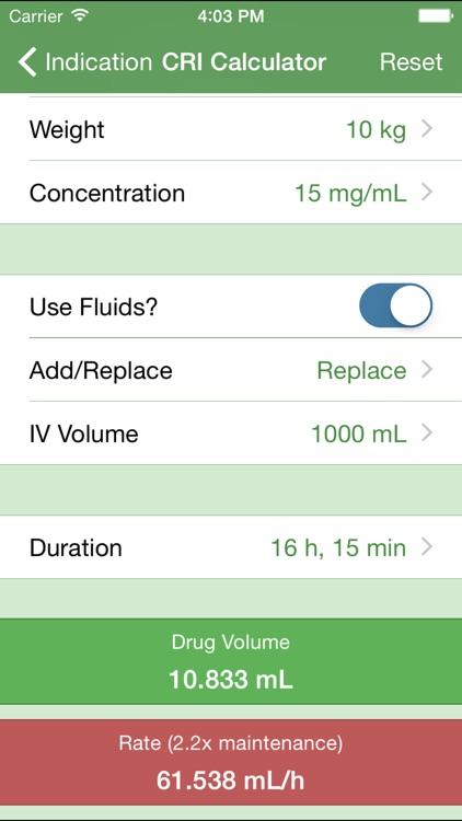 Timeless Vet Drug Index screenshot-4