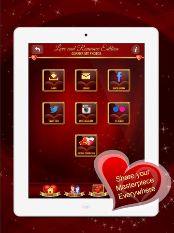 Corner My Photos – Love & Romance Edition - Add beautiful loving, heartfelt photo corners to your pictures.-ipad-4
