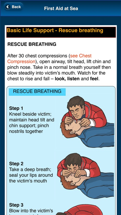 First Aid at Sea - Adlard Coles screenshot-1