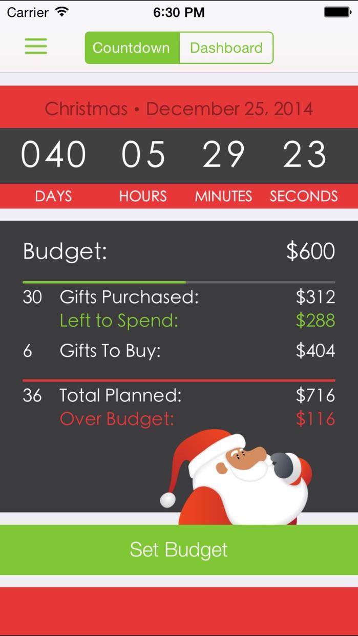 Santa's Bag - Christmas Gift List Screenshot
