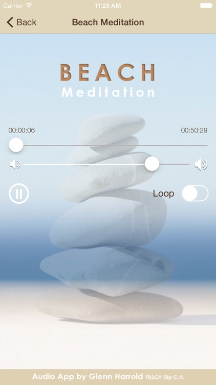 Beach Meditation by Glenn Harrold: Self-Hypnosis Relaxation for  Sleep