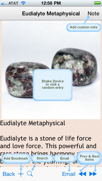 Gemstone and Crystal Power and Therapy screenshot-4