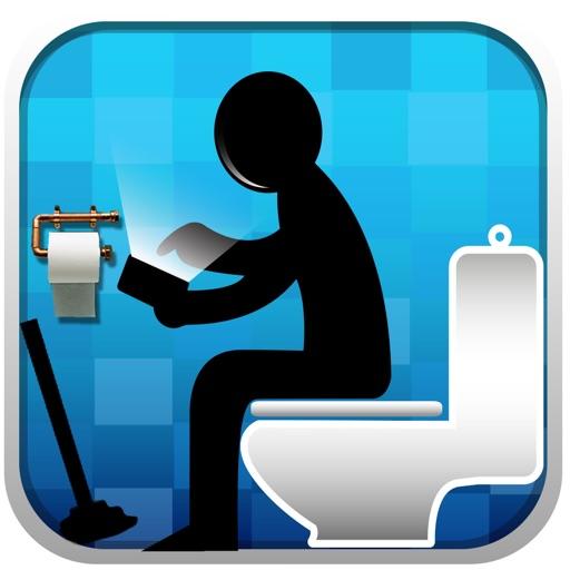 Ванная комната мини-игры-Crazy & смешныекаракули игры с уборной глупо веселый раз прохожу& Туалет приключения