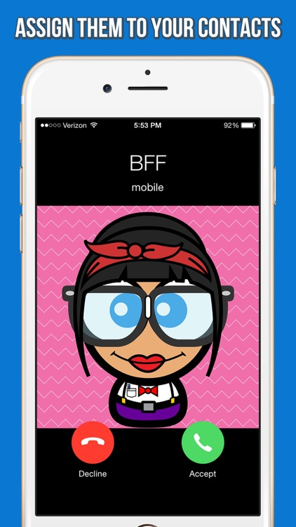 Cute Avatar Creator - Make Funny Cartoon Characters for Your Contacts or Profile Picture screenshot-3