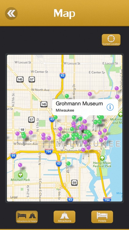 Milwaukee City Offline Travel Guide screenshot-3