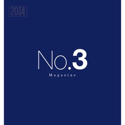 No.3 Magazine high-quality, perfect bound, glossy print and digital magazine