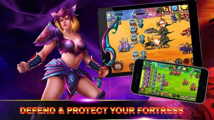 Heroes of Legend : Castle Defense screenshot-3