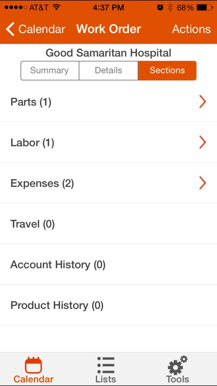 ServiceMax Spring 15 for iPhone screenshot-3