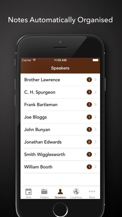 ChurchNotes - Write Notes From Church Sermons and Bible Studies or Podcasts screenshot-3