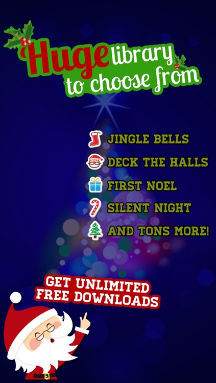 Christmas Jingle Tones - Holiday Ringtones and Text Tones screenshot-3