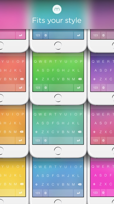 Minuum - The Little Keyboard for Big Fingers: Now with Smart Emojiのおすすめ画像3