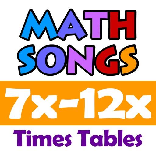 Math Songs: Times Tables 7x - 12x