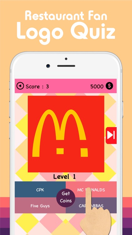 Restaurant Fan Logo Quiz : Crack the Cooking Shop Image Trivia Guess Game Free screenshot-3